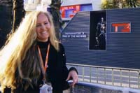 Andres in Cannes with Terminator Poster